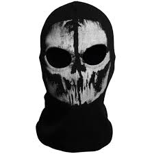 call of duty cod 10 ghost skull face mask cosplay balaclava