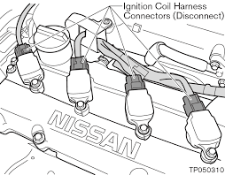 ignition coil wire harness connector nissan titan forum