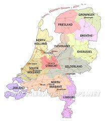 Holland Map Netherlands Maps By Freeworldmaps Net