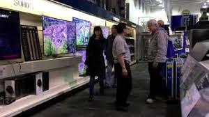 deals on tv black friday best buy motion of display 4k samsung tv on sale inside best buy store
