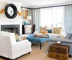 Home Decorating Fabrics Online Decorations Gorgeous Eclectic Living Room With White Fabric Sofa
