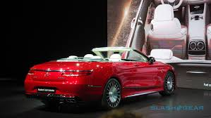 maybach sports car the mercedes maybach s 650 cabriolet is kinda ridiculous slashgear