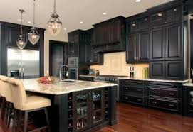 black ebony stained kitchen cabinets 60 awesome kitchen cabinetry