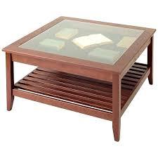 Vintage Glass Top Coffee Table Vintage Glass Top Coffee Table Vintage Glass Top Display Coffee