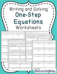 one step equation worksheets precommunity printables worksheets