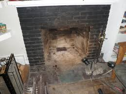 removing a built in damper from fireplace coal bins chimneys