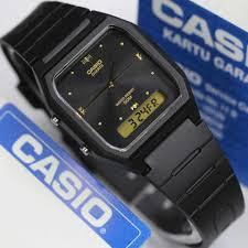 Jam Tangan Casio tangan casio kotak aw 48he analog digital original