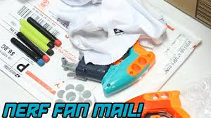 stephen sharer fan mail address nerf fan mail 2 blasters i ve wanted for a long time youtube