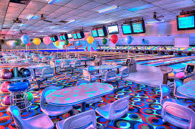 black light bowling near me extreme glow or cosmic bowling in allen park