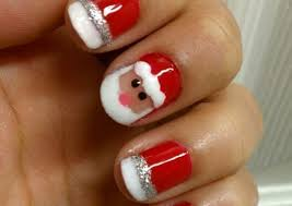 the christmas nail ornament how you can do it at home pictures