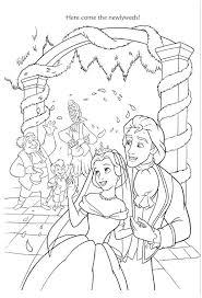 disney wedding coloring pages 5139 disney wedding coloring