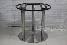 large dining table legs cheap custom stainless steel microwave oven large round table tripod