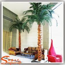 indoor decorative metal palm trees decorative artificial palm tree