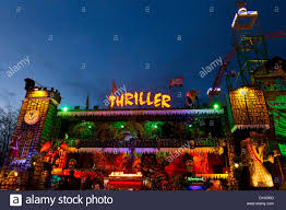 the thriller haunted house of horrors at the winter wonderland