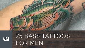 75 bass tattoos for men youtube