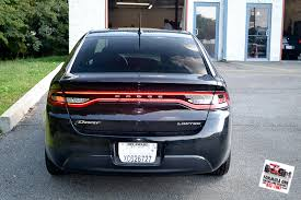 2013 dodge dart tail lights gotshadeonline custom vehicle wraps window tinting racing stripes