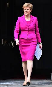 theresa may u0027s fashion face off with nicola sturgeon daily mail