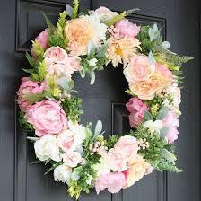 best 25 silk flower wreaths ideas on floral wreaths