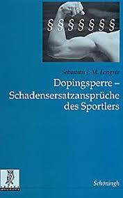 schadensersatzansprüche dopingsperre abebooks