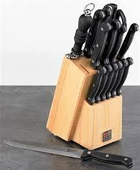 sheffield kitchen knives richardson sheffield artisan 15 knife block set kitchen