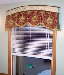 box pleat valance dining room traditional with roman shades linen