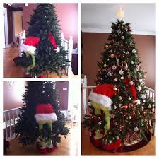 grinch tree grinch christmas trees how to make a grinch christmas tree crafty