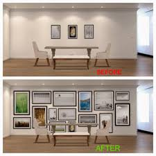 sugar cube interior basics how to properly hang a picture gallery