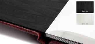 black page photo album pacific flush mount albums with leatherette linen or photo covers
