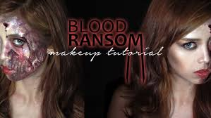 anne curtis blood ransom half monster zombie makeup tutorial