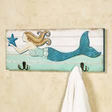 mermaid themed bathroom wall decor beach themed wall art mermaid bathroom decor mermaid
