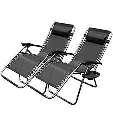 Patio Recliner Chair Xtremepowerus Zero Gravity Adjustable Reclining Chair