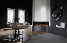 Black Paint For Fireplace Interior Wall Color Black 59 Examples Of Successful Interior Design