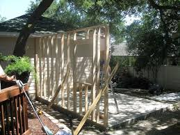 Building Backyard Shed by Building A Backyard Shed Shop Hometalk