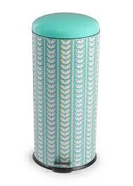 Retro Kitchen Accessories by Salter 30 Litre Retro Leaf Pedal Bin Kitchen Accessories Salter