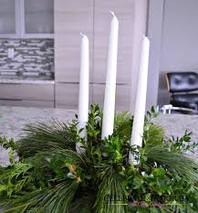 Christmas Centerpiece Images - make this evergreen christmas centerpiece homeforchristmas hometalk