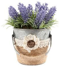 Artificial Plants Home Decor Artificial Plants Simulation Lavender Handmade Flowers For Home