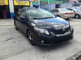 toyota corolla s 2009 for sale used 2009 toyota corolla s sedan 4 dr 7 990 00