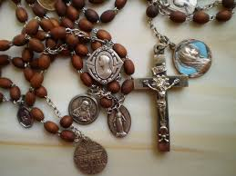 15 decade rosary collecting antique rosaries fabulous antique 15 decade wooden