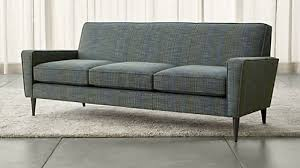 How To Cover A Chair Seat Sofas Couches And Loveseats Crate And Barrel