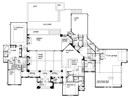 5 Bedroom Floor Plans 1 Story European Home Floor Plans