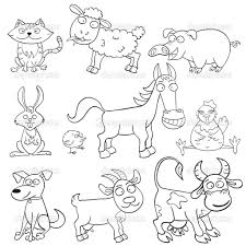 coloring farm animals coloring free coloring pages