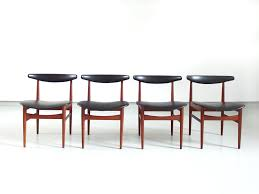 Danish Dining Room Table Danish Dining Chairs 1965 Set Of 4 For Sale At Pamono