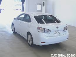 lexus hs for sale 2009 lexus hs 250h pearl for sale stock no 50493 japanese