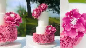 wedding cake tutorial ruffle wedding cake online cake decorating tutorials