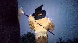 spirit halloween the harvester animated scarecrow prop youtube