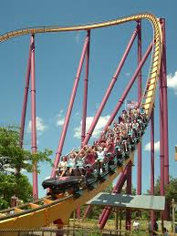 Six Flags In Illinois Tickets B U0026m Hyper Coasters Six Flags Parks California Coaster Kings