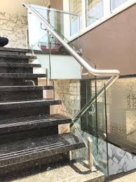 Fitting Banisters Steel Glass Railing Manufacturer From Surat