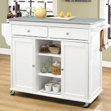 White Kitchen Island With Stainless Steel Top Kitchen Islands With Stainless Steel Tops U2013 Pixelkitchen Co