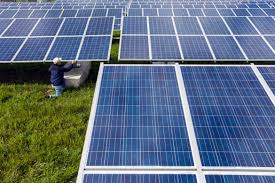 landfill sites find reuse as locations for solar electricity plants