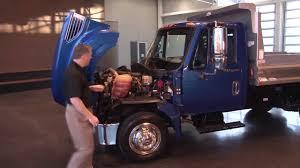 international trucks international trucks under the hood youtube